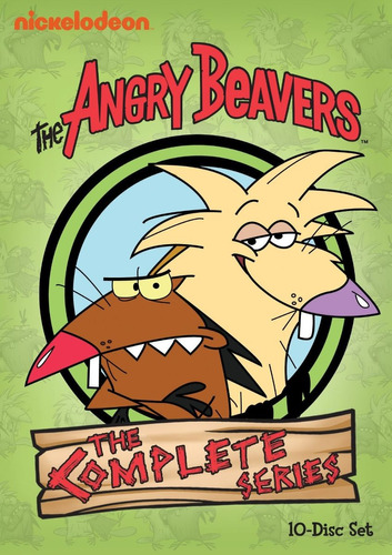the angry beavers complete series en dvd