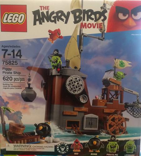 the angry birds movie lego 75825 piggy pírate ship