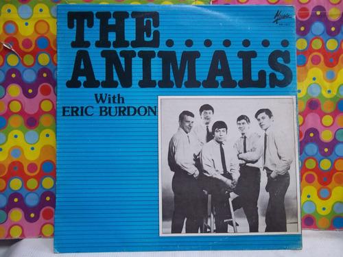 the animals lp with eric burdon, seminuevo,acetato