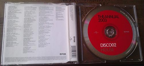 the annual 2003 disco 2 house  cd ed 2003 daa