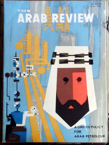 the arab review  - cairo - vol.ii n°19 nov 1961 64p muy buen