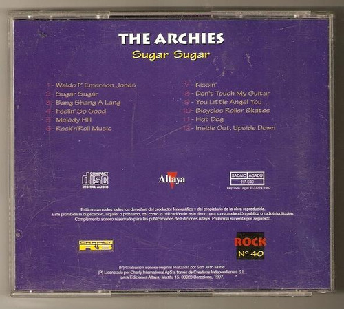 the archies cd