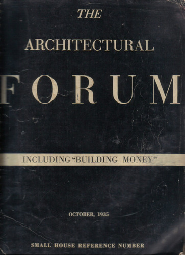 the architectural forum / october 1935