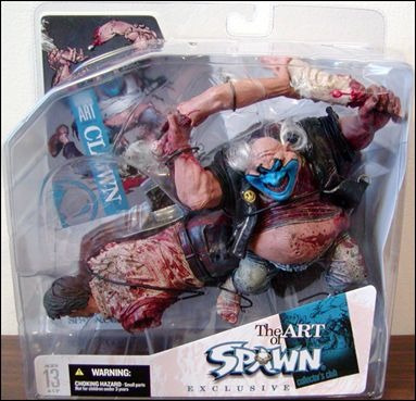 The Art Of Spawn Exclusive Collector's Club Clown Serie 27