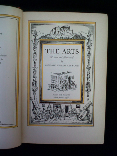 the arts, hendrik willem van loon