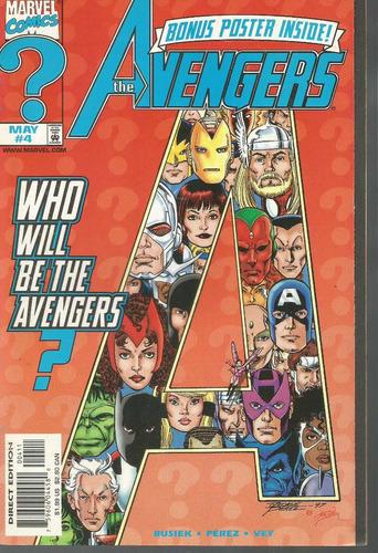 the avengers 04 bonus poster - marvel - bonellihq cx177a b18