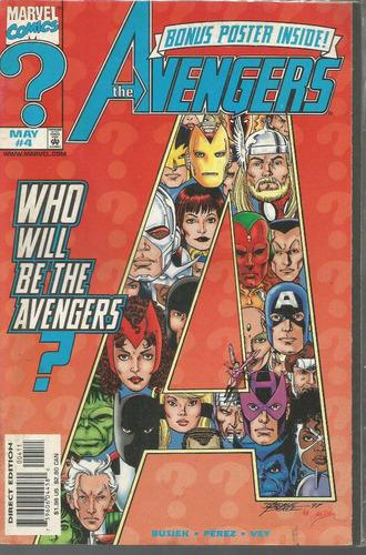 the  avengers 04 - marvel - bonellihq cx178 b18