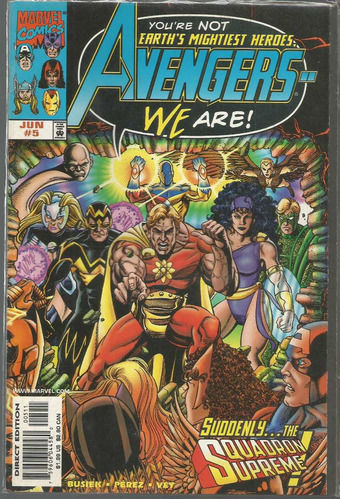 the avengers 05 - marvel - bonellihq cx178 b18