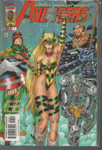 the avengers 07 - marvel - bonellihq cx177a b18