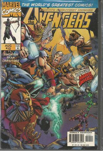 the avengers 10 - marvel - bonellihq cx178 b18