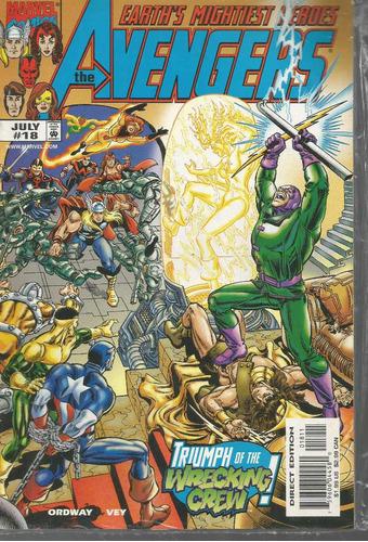 the avengers 18 - marvel - bonellihq cx178 b18