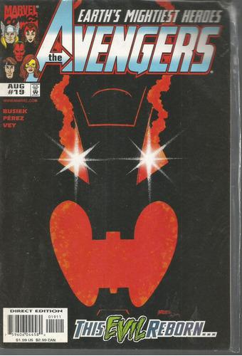 the avengers 19 - marvel - bonellihq cx178 b18