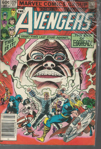 the avengers 229 - marvel - bonellihq cx177a b18