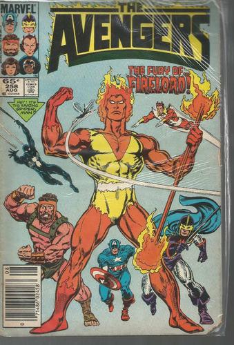 the avengers 258 - marvel - bonellihq cx177a b18