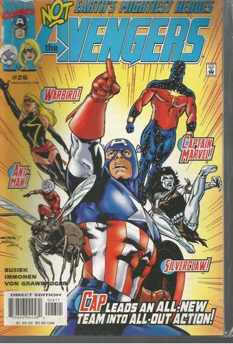 the avengers 26 - marvel - bonellihq cx178 b18