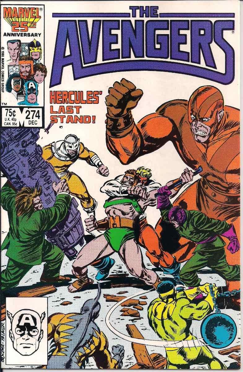 Resultado de imagem para the avengers #274