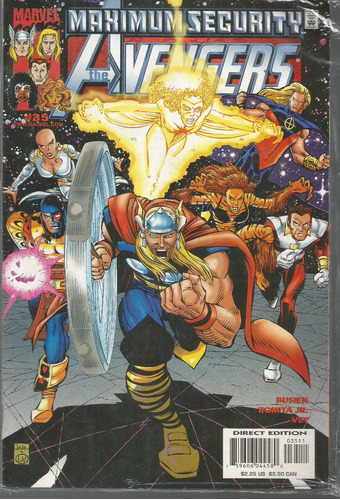 the avengers 35 - marvel - bonellihq cx179 c18