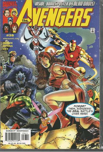 the avengers 36 - marvel - bonellihq cx179 b18