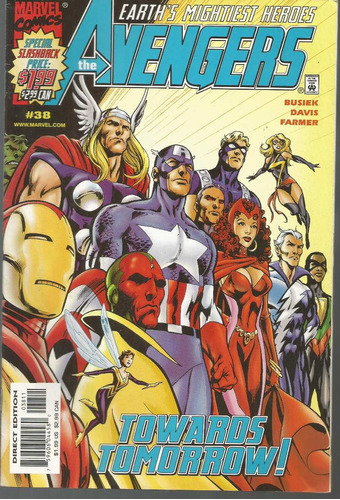 the avengers 38 - marvel - bonellihq cx179 c18