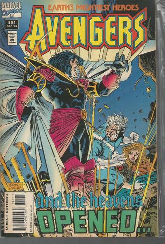 the avengers 381 - marvel - bonellihq cx177a b18