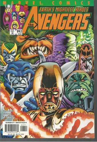 the avengers 43 - marvel - bonellihq cx179 c18