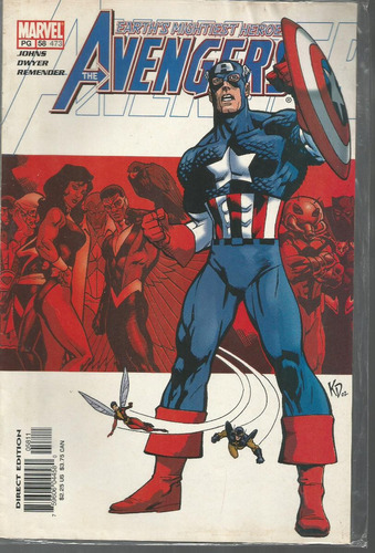 the avengers 58 - marvel - bonellihq cx177a b18