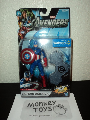 the avengers movie series captain america walmart exclusive