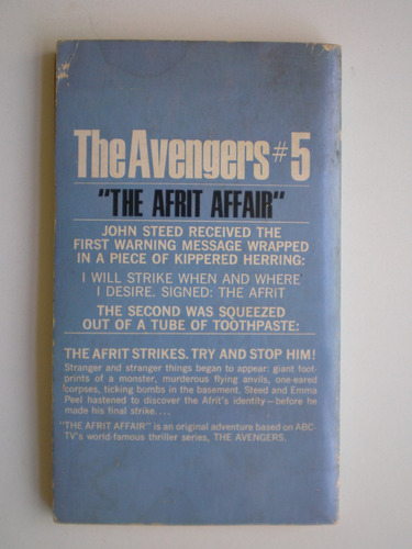 the avengers nº5 keith laumer ingles serie tv los vengadores
