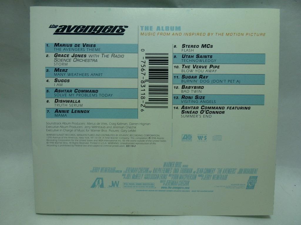 The Avengers Soundtrack - Cd Usa - $ 643,50
