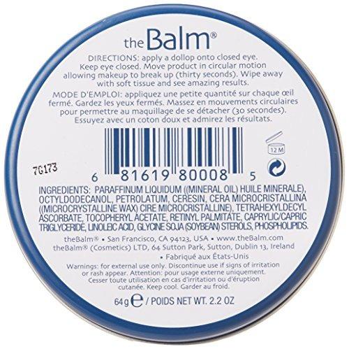 the balm balms away eye makeup remover