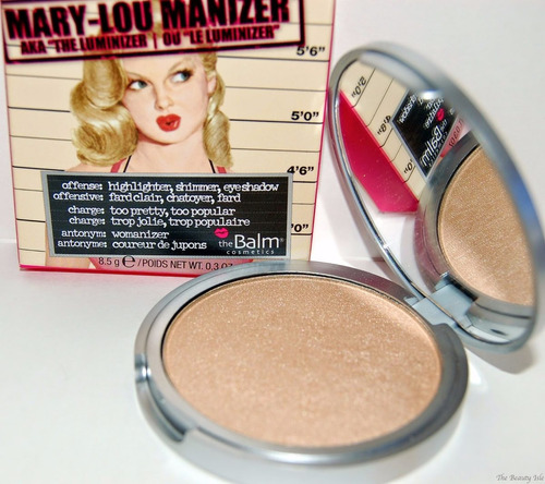 the balm iluminador mary lou manizer