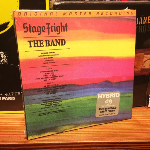 the band stage fright sacd hybrid