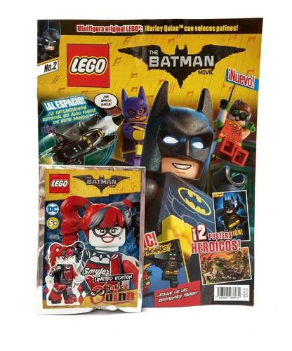 the batman movie lego edición 2 revista panini en español