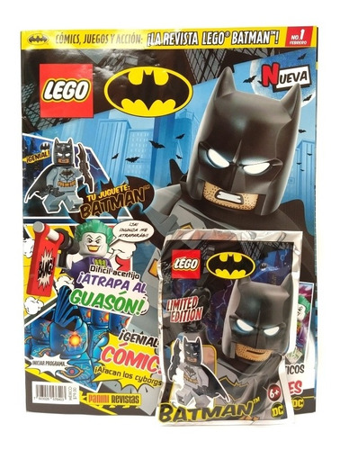 the batman movie lego edición 3 revista panini en español
