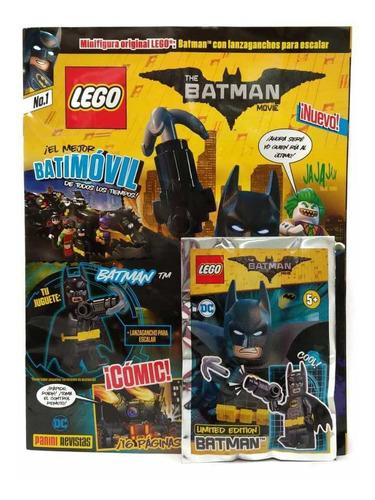 the batman movie lego tomo 1 revista panini original español