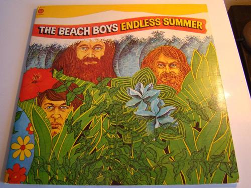 the beach boys 2 lp endless summer usa poster gigante excel.