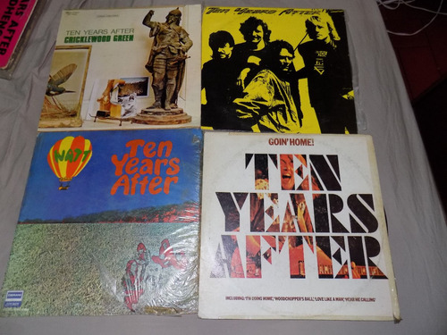 the beach boys, the kinks,ten years after, spooky tooth, lp