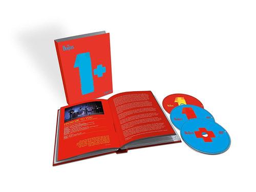 the beatles 1+ libro cd 2 dvd deluxe nuevo cerrado original
