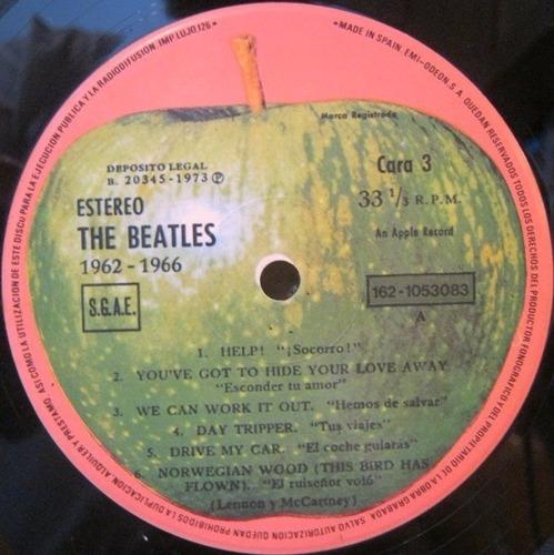 the beatles 1962-1966 álbum rojo vinilos (2) importados