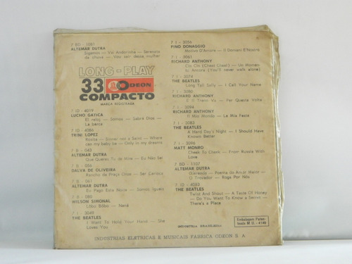 the beatles 1964 a hard day's night - compacto ep 1