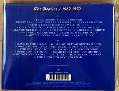 the beatles - 1967 - 1970 (2010)