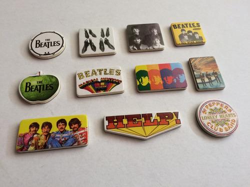 the beatles 42 imanes de refrigerador de colección