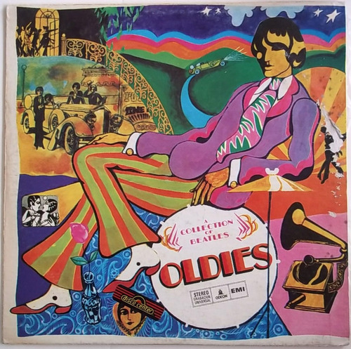 the beatles. a collection of beatles oldies. disco vinilo