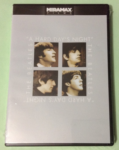 the beatles - a hard day's night - dvd doble