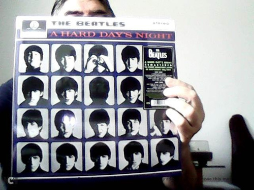 the beatles - a hard day's night- vinil 180 grs. stereo
