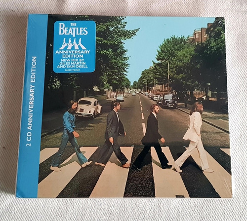 the beatles - abbey road deluxe edition - cd duplo - 2019