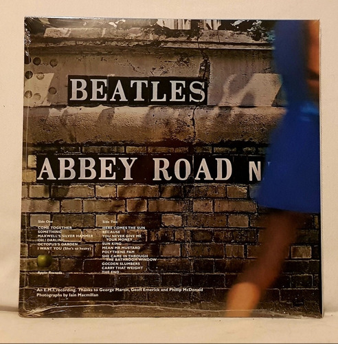 the beatles - abbey road picture disc vinil lp