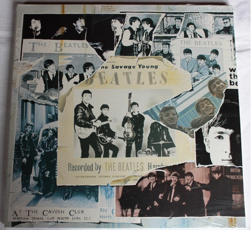 the beatles anthology i triple lp vinilo importado nuevo