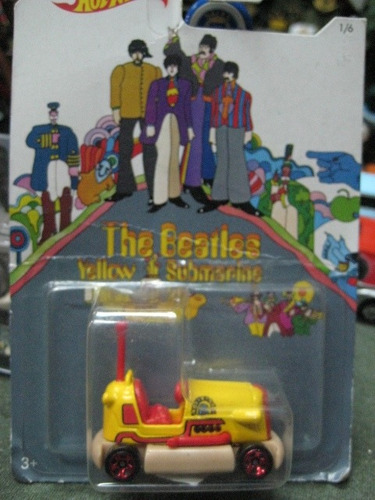 the beatles - auto edicion limitada submarino amarillo