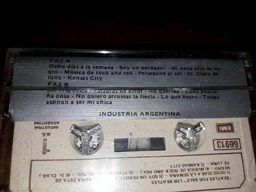 the beatles  beatles for sale  cassette.-